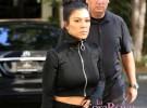 Kourtney Kardashian comenta cuál es el estado de su hermana Kim