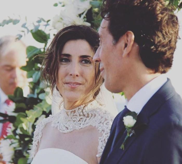 Paz Padilla se casa en una boda íntima con su novio Juan