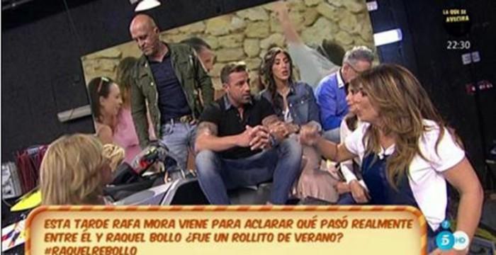 Raquel Bollo y Rafa Mora niegan haber tenido un affaire