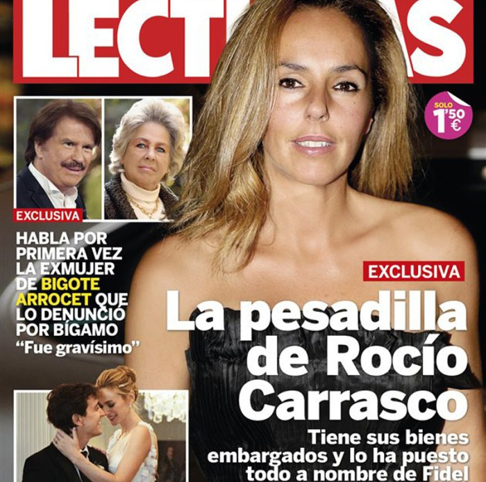 Los graves problemas financieros de Rocío Carrasco