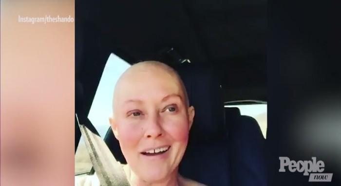 Una esperanzada Shannen Doherty comparte un vídeo tras una sesión de quimioterapia