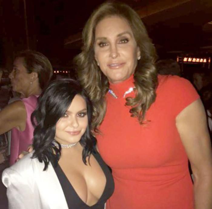 Ariel Winter emocionada tras haber conocido a Caitlyn Jenner