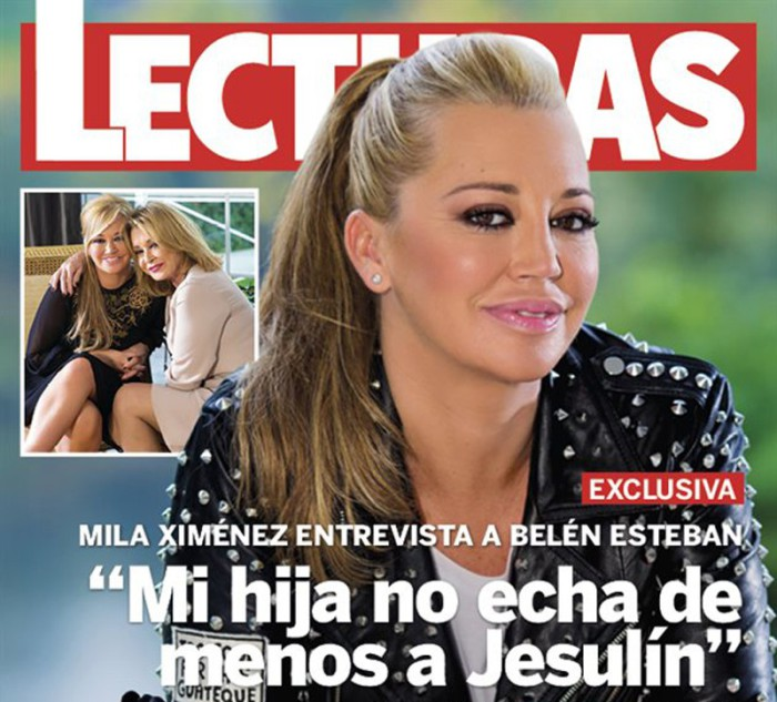 Belén Esteban cumple 43 años con exclusiva en Lecturas