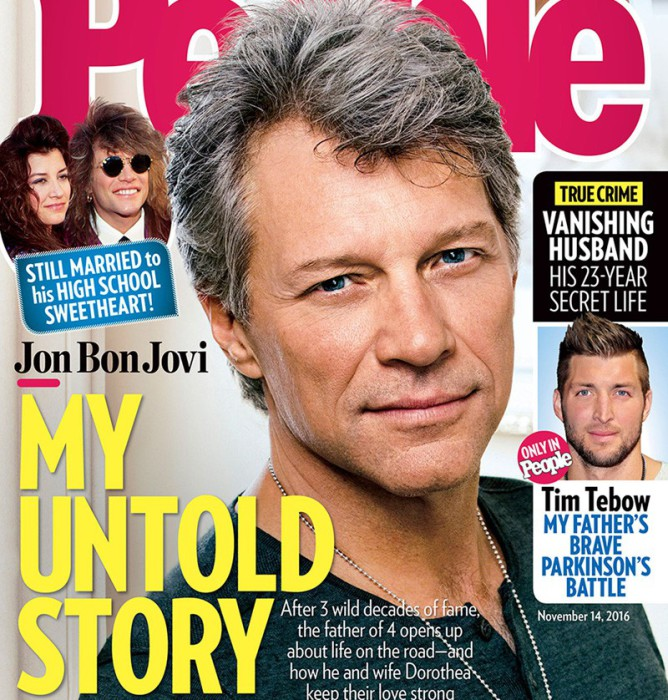 Jon Bon Jovi hace balance de su vida personal y su carrera en People