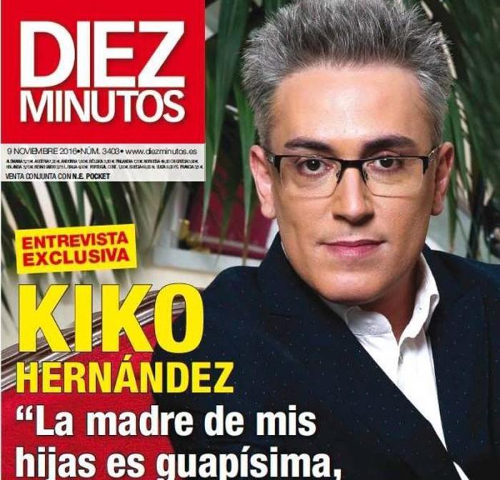 Kiko Hernández habla de su paternidad y planes de futuro en Diez Minutos