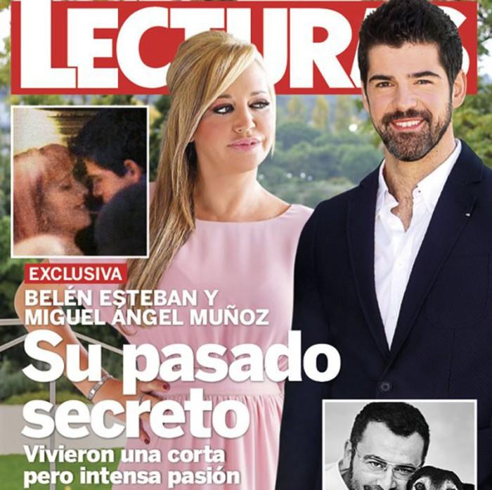 Lecturas dedica su portada a Belén Esteban y Miguel Ángel Muñoz