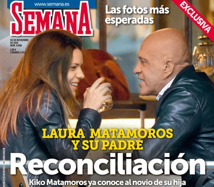 Kiko Matamoros narra su encuentro con su hija Laura