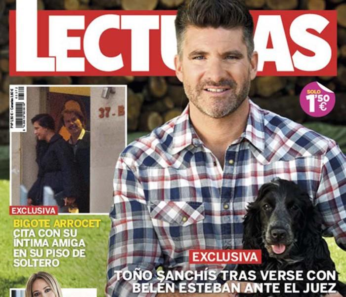 Toño Sanchís relata su encuentro con Belén Esteban en los juzgados en Lecturas