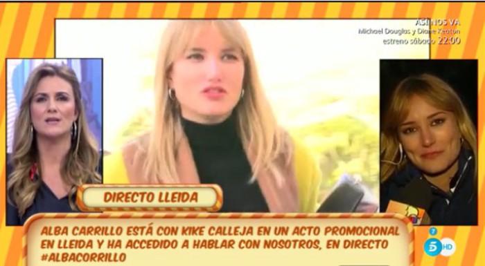 Alba Carrillo aconseja a la nueva novia de Feliciano López