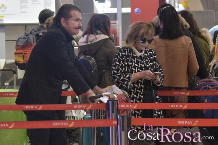 María Teresa Campos y Edmundo Arrocet pasarán la nochevieja en Lanzarote