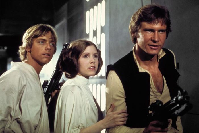 Carrie Fisher, la princesa de Leia, muere a los 60 años