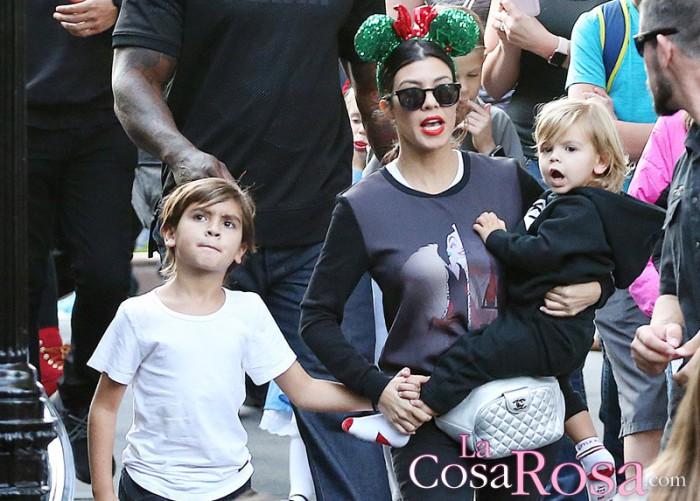 """Kourtney Kardashian: """"Sería feliz si dejara de aparecer en el reality de mis hermanas"""""""