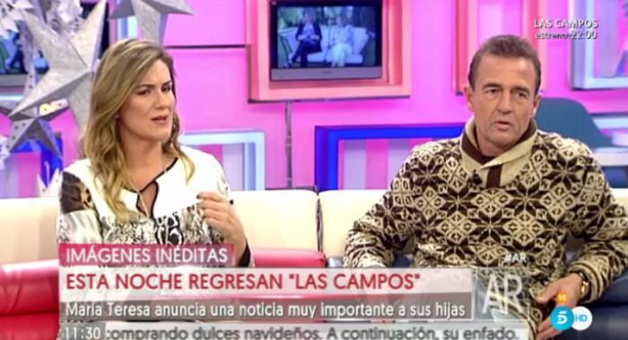 Alessandro Lequio carga contra Terelu antes del estreno del especial navideño de Las Campos