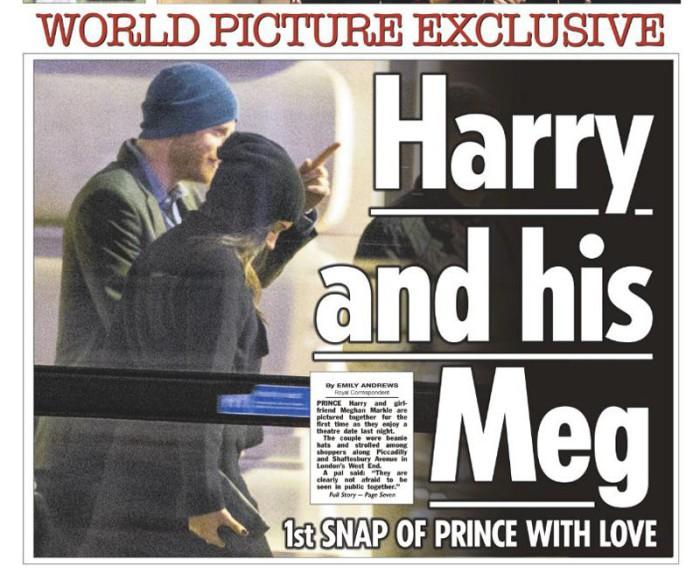 El príncipe Enrique y Meghan Markle son fotografiados por primera vez juntos en Londres