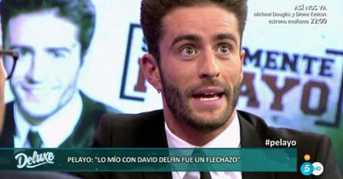 Pelayo Díaz habla de su flechazo y ruptura con David Delfín