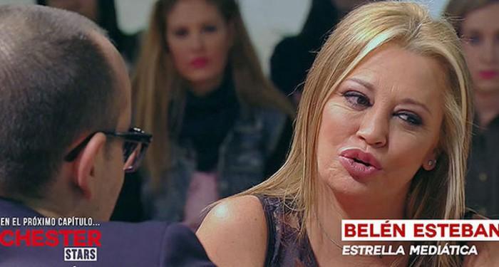 Belén Esteban le cuenta a Risto Mejide que está deseando dejar la televisión