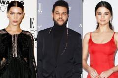 Bella Hadid molesta al ver a su ex con Selena Gomez