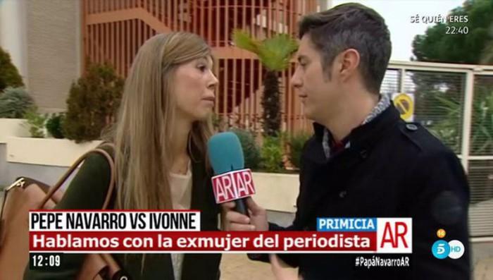 La ex de Pepe Navarro, Eva Zaldívar, se pronuncia sobre el hijo de Ivonne Reyes