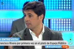 Fran Rivera debuta como colaborador en Espejo Público de Antena 3