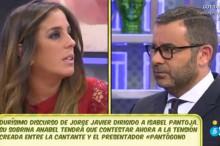 Jorge Javier Vázquez responde con dureza a Isabel Pantoja