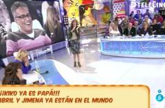 Kiko Hernández ya es padre de dos niñas llamadas Abril y Jimena