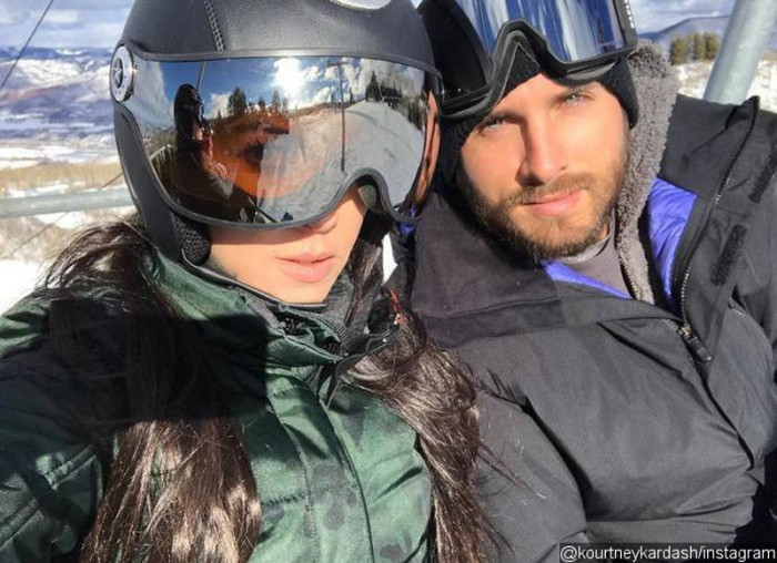 Kourtney Kardashian y Scott Disick, vacaciones en familia en Aspen