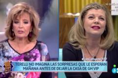 Una orgullosa María Teresa Campos visita hoy a Terelu en Gran Hermano VIP 5