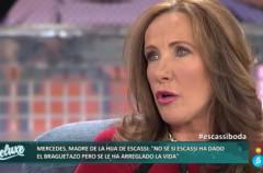 Mercedes Barrachina, muy escéptica sobre la boda de Álvaro Muñoz Escassi