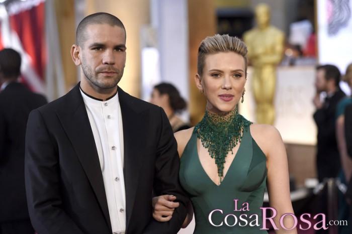 Scarlett Johansson y Romain Dauriac rompen tras dos años casados