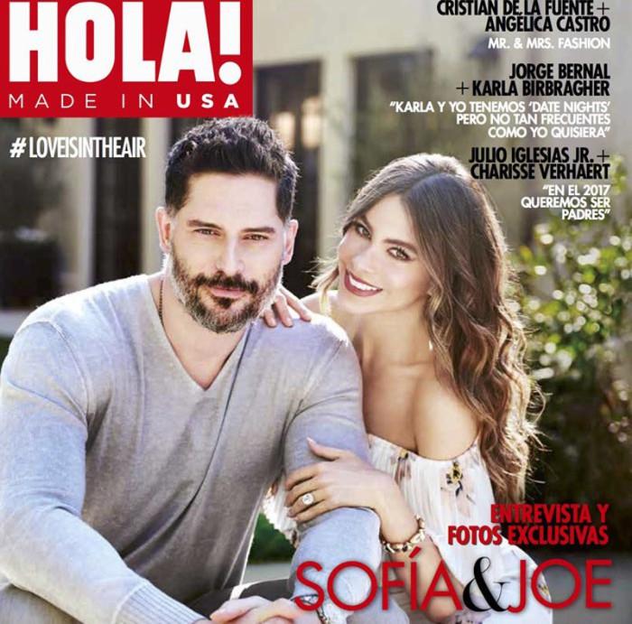 Sofía Vergara y Joe Manganiello muestran su casa en ¡Hola! USA