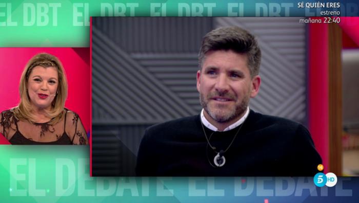 Terelu Campos se despide de Gran Hermano VIP 5 con Toño Sanchís como camarero