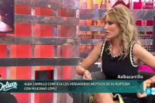 Alba Carrillo habla sobre su estado mental, su hijo y la sexualidad de Feliciano López