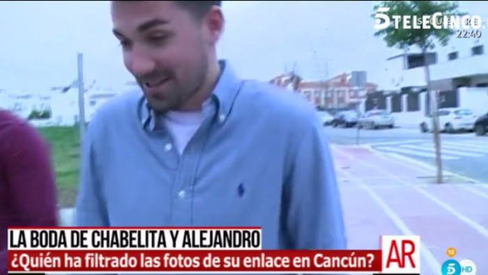 Alejandro Albalá se pronuncia sobre la filtración de las fotos de su boda con Chabelita