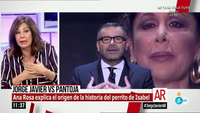 Ana Rosa Quintana opina sobre el enfrentamiento entre Jorge Javier Vázquez e Isabel Pantoja