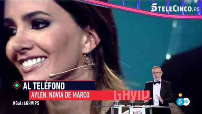 Aylén, la novia de Marco Ferri, confiesa miedo y celos de Alyson Eckmann