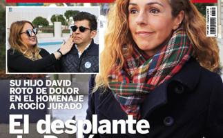 Rocío Carrasco, portada de Lecturas por su ausencia en un acto homenaje a su madre