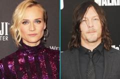 Diane Kruger y Norman Reedus (The Walking Dead) salen juntos