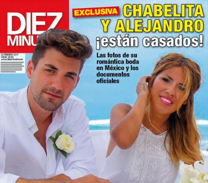 Isa Pantoja y Alejandro Albalá, exclusiva de su reciente boda en México