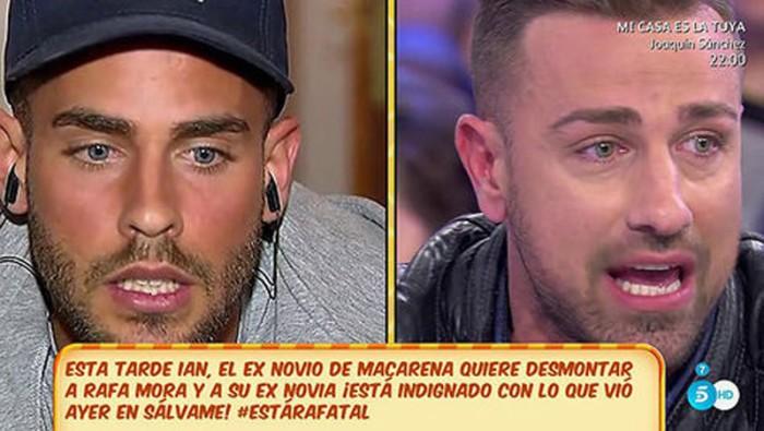 Rafa Mora se enfrenta de nuevo a Ian, ex de Macarena
