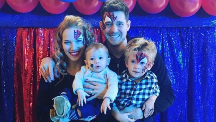 Noah, el hijo de Michael Bublé y Luisana Lopilato ya no tiene cáncer