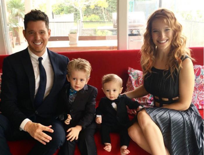 Michael Buble se pronuncia sobre el estado de salud de su hijo Noah
