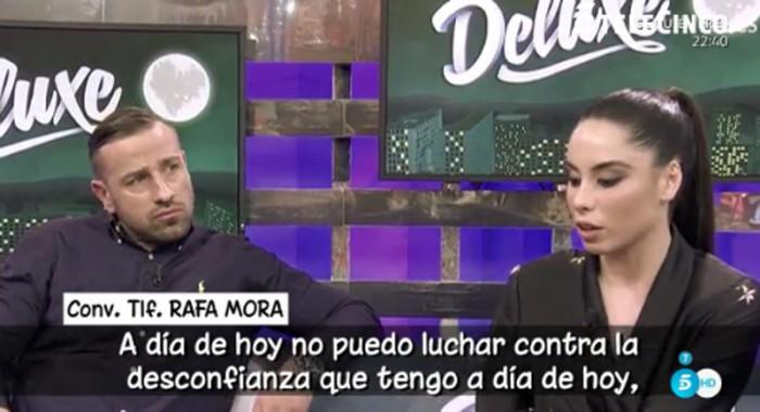 Rafa Mora necesita recuperarse tras el paso de Macarena por el Polideluxe
