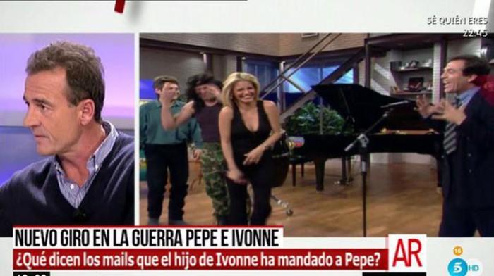 El hijo de Ivonne Reyes ha escrito a Pepe Navarro porque tiene dudas