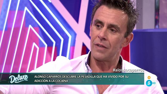 Alonso Caparrós habla sobre su adicción a las drogas en Sábado Deluxe
