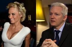 Pamela Anderson y su amor por Julian Assange