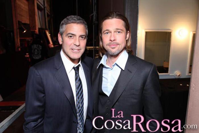 Brad Pitt quiere recuperar su amistad con George Clooney