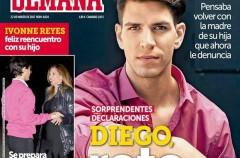Diego Matamoros protagonista de las revistas del corazón