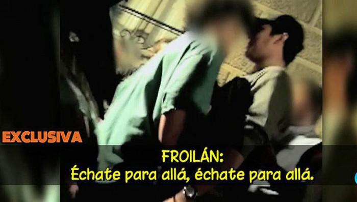 Froilán protagoniza un altercado violento a las puertas de una discoteca