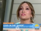 Jennifer Lopez se emociona al hablar sobre la maternidad