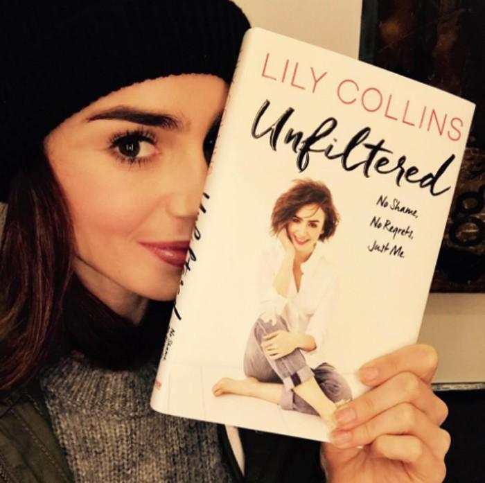 Lily Collins revela que sufrió anorexia y violencia machista